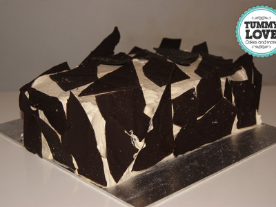 Zeezout Chocolade Taart